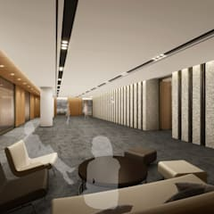 SK건설 관훈빌딩 임원실층: Metaverse의  회사,모던