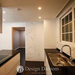 잠실 우성아파트 43py: Design Daroom 디자인다룸의  주방,모던