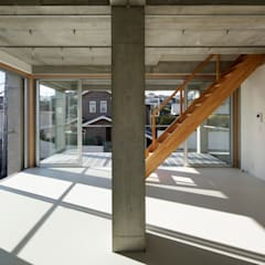 SHICHIRI-Y : 建築設計事務所 可児公一植美雪/KANIUE ARCHITECTSが手掛けた子供部屋です。,モダン 鉄筋コンクリート