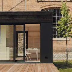 Small houses by Transstruktura - Architektur Stadt Objekt, Modern Wood Wood effect