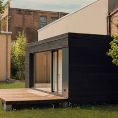 por Transstruktura - Architektur Stadt Objekt Moderno Madeira Efeito de madeira