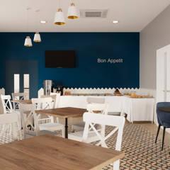 Hotel in Anapa: Столовые комнаты в . Автор – Дизайн студия Марии Зерщиковой