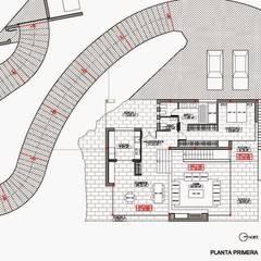 Arquitectura para el bienestar en Madrid: Casas unifamilares de estilo  de Otto Medem Arquitecto vanguardista en Madrid