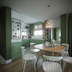 Onur Eroğuz Mimarlık Hizmetleri – Single Family House - Interior Design:  tarz Mutfak