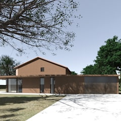 Front garden by MIDE architetti,
