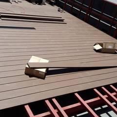 Террасы на крыше в . Автор – Constructora Las Américas S.A.