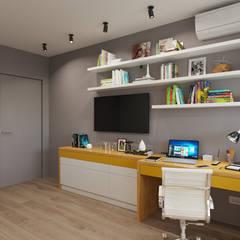 Teen bedroom by Дизайн-мастерская 'GENESIS'