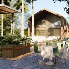 Cerimonial - Fazenda Coqueiral: Jardins  por Architet Studio