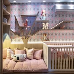 Baby room by JuBa - Arquitetando Ninhos