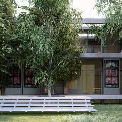 Nhà thụ động by Rr+a  bureau de arquitectos