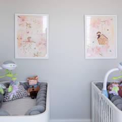 غرف الرضع تنفيذ JuBa - Arquitetando Ninhos