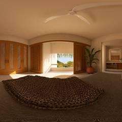 Armadillo Living, Playa La Ropa.: Salas de estilo  por Zozaya Arquitectos