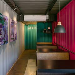 مطاعم تنفيذ Perotto E Fontoura Estúdio de Arquitetura