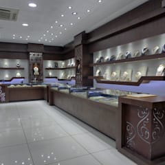 The Billa Zaveri (grand jewelry showroom):  Commercial Spaces by Inklets studio