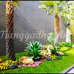 Projekty,  Podwórko zaprojektowane przez Tukang Taman Surabaya - Tianggadha-art,