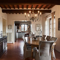 Dining room by Matteo Castelli fotografia