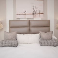 Beach House Glam Guest House - Onrus:  Bedroom by Overberg Interiors