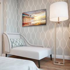 ห้องนอนขนาดเล็ก by Владимир Чиченков