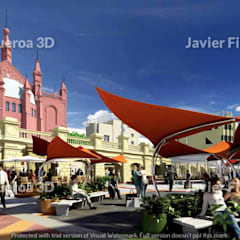 Shopping Centres by Javier Figueroa 3D