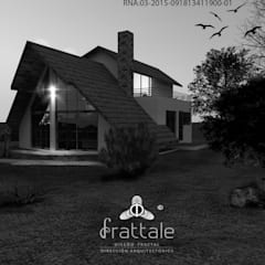 Log cabin by Frattale, Tropical