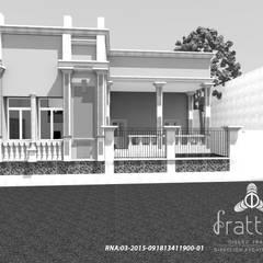 TRABAJOS VARIOS 2009: Casas unifamiliares de estilo  por Frattale