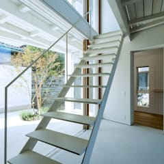 樓梯 by Takeru Shoji Architects.Co.,Ltd