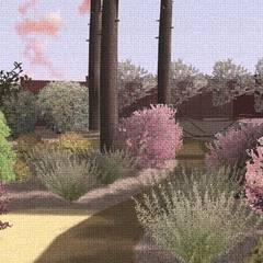Серебряный сад: Сады в . Автор – Марина Михайлик