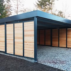 Carport by Siebau Raumsysteme GmbH & Co KG , Modern Iron/Steel