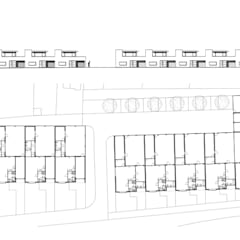 Patiowoningen Maastricht:  Eengezinswoning door Verheij Architecten BNA