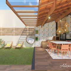 Mái hiên by Alexandra Ferraz Arquitetura e Design