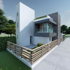 Small houses by DISARQ ARQUITECTOS., Modern