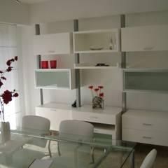 Espacio Cocina/Comedor . Fabiana Ordoqui  Diseño|Ejecución: Comedores de estilo  por Fabiana Ordoqui       Arquitectura y Diseño - Rosario