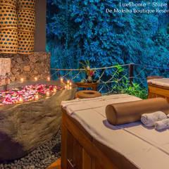 Kamienna Wanna W Hotelu / SPA - Wanny Z Kamienia Naturalnego: styl , w kategorii Łazienka zaprojektowany przez Lux4home™