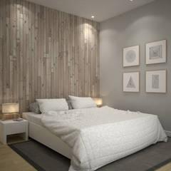 Casa prefabricada en hormigón Modelo Family: Dormitorios de estilo  de Trenta Casas Prefabricadas de Hormigón en Madrid, Moderno Hormigón