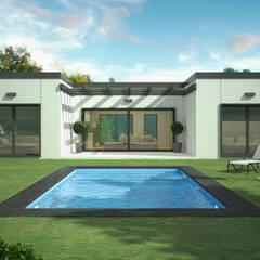 منزل جاهز للتركيب تنفيذ Trenta Casas Prefabricadas de Hormigón en Madrid,