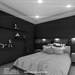 ห้องนอนขนาดเล็ก by Frattale