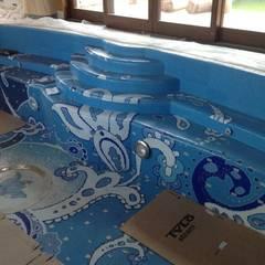 Infinity pool by Хамам-мозаика, Classic Ceramic