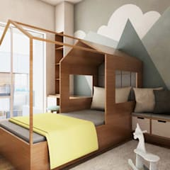 Small bedroom by PT VISIO GEMILANG ABADI