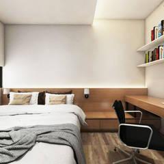Tomang Residence: Kamar Tidur oleh PT VISIO GEMILANG ABADI,