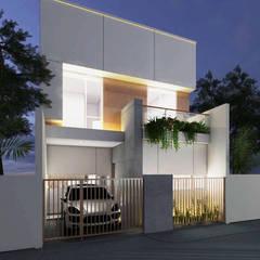 Tomang Residence: Rumah tinggal  oleh PT VISIO GEMILANG ABADI, Skandinavia Batu Bata