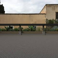Ruang Media Modern Oleh ALESSIO LO BELLO ARCHITETTO a Palermo Modern