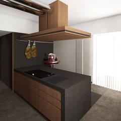 Appartamento C S - Corleone: Cucina in stile  di ALESSIO LO BELLO ARCHITETTO a Palermo