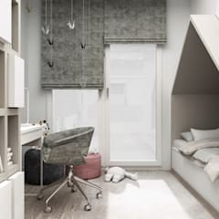 Baby room by 91m2 Architektura Wnętrz, Modern