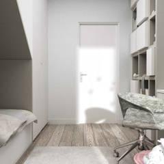 Baby room توسط91m2 Architektura Wnętrz