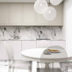 Muebles de cocinas de estilo  por 91m2 Architektura Wnętrz