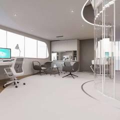 VERO CONCEPT MİMARLIK – Ares Tersanecilik Mobilya Fabrikası Ofis:  tarz Ofis Alanları,