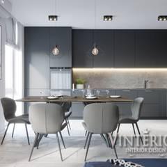 Kitchen by Vinterior - дизайн интерьера