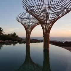 Infinity pool by Zozaya Arquitectos,