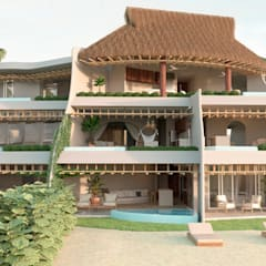 منازل التراس تنفيذ Zozaya Arquitectos