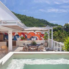 Projekty,  Taras zaprojektowane przez Froma Arquitetura